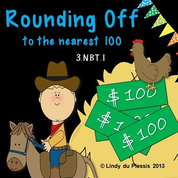 Rounding to the nearest 100 PowerPoint & worksheets
