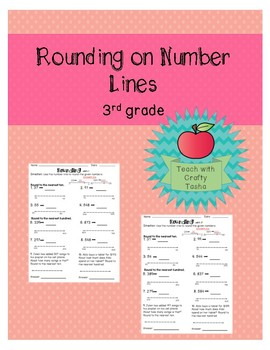 Rounding on Number Lines