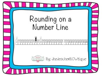 Rounding on a Number Line