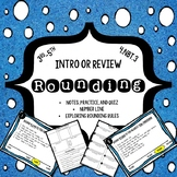 Rounding on a Number Line: Introduction or Review