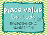 Rounding on a Number Line Task Cards