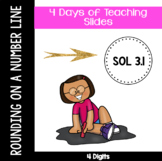 Rounding on a Number Line - VA SOL 3.1 - Week 3 - Rounding