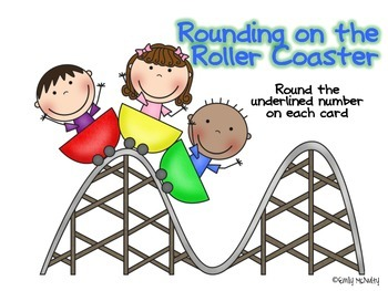 Rounding on the Roller Coaster - Tens, Hundreds, Thousands and up!
