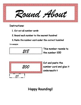 Rounding sort