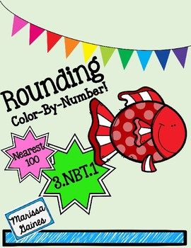 Rounding the Nearest 100 Color By Number