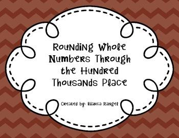 Rounding through Hundred Thousand