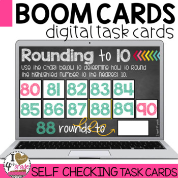 Rounding to 10 Boom Cards