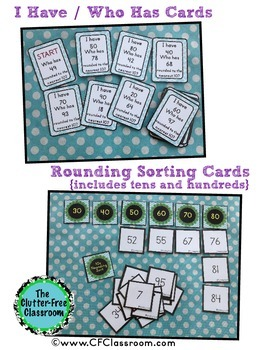 Rounding Numbers | Rounding Games | Rounding Activities | Rounding Math Centers