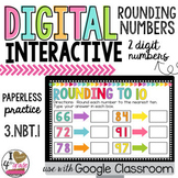 Rounding to 10 for Google Classroom Distance Learning