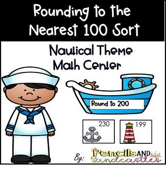 Rounding to 100 Match Up Center (Nautical)