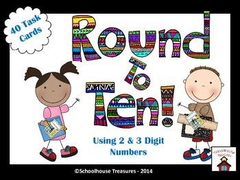 Rounding to Nearest 10 - Grades 3-4