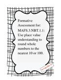 Rounding to Nearest 10 and 100 MAFS.3.NBT.1.1
