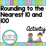 Rounding to Nearest 10 and 100 No Prep- 3 Items- Center, W