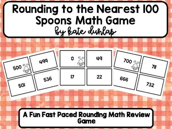 Rounding to Nearest 100 Spoon Game