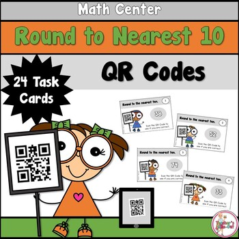 Rounding to Nearest Ten with QR Codes
