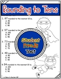 Rounding to Tens Test