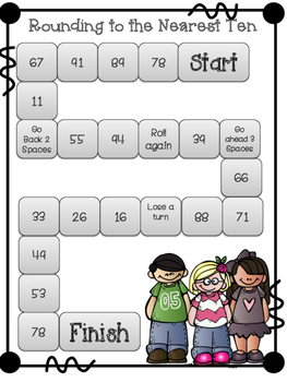 Rounding to Tens and Hundreds Game