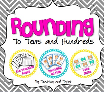 Rounding to Tens and Hundreds - Mini Unit