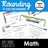 Rounding to Tens and Hundreds, Distance Learning, Google Classroom