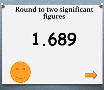 Rounding to decimal places & significant figures Bingo! game