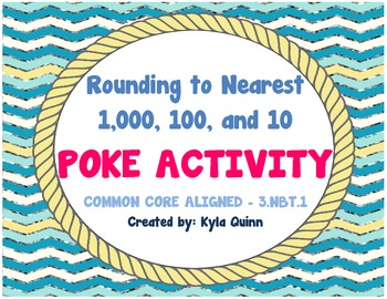 Rounding to nearest 10, 100, or 1,000 POKE Activity COMMON
