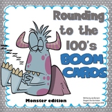 Rounding to the 100's Boom Cards