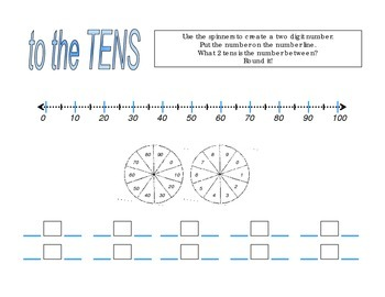 Rounding to the 10's and 100's Folder Center