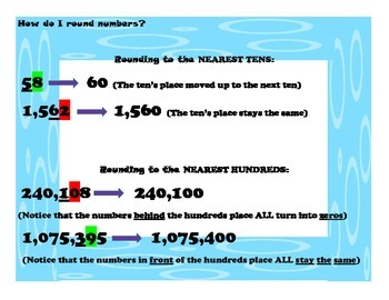 Rounding to the Hundred Thousand Activity