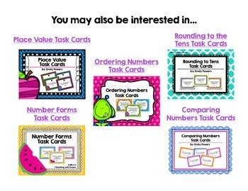 Rounding Task Cards (Nearest Hundred)