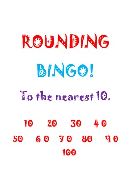 Rounding to the Nearest 10!