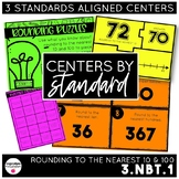 Rounding to the Nearest 10 & 100 | 3.NBT.1 Centers