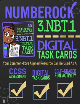 Rounding to the Nearest 10 & 100 ★ Google Classroom Math | 3rd Grade | 3.NBT.1