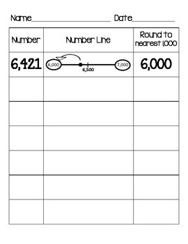 Rounding to the Nearest 10, 100, and 1,000