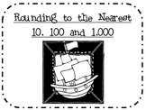 Rounding to the Nearest 10, 100 and 1,000 (Pirate Themed)