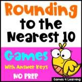 Rounding Numbers Games: Rounding to the Nearest 10 Rounding Games