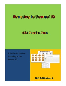 Rounding to the Nearest 10 Mini Practice Pack