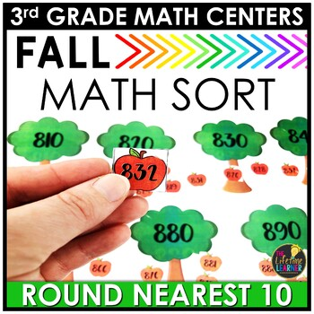 Rounding to the Nearest 10 Fall Game