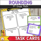 Rounding Task Cards to the Nearest 10 and 100