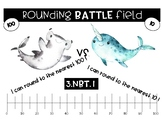 Rounding to the Nearest 10 and 100 Hammerhead vs. Narwhal