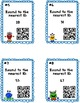 Rounding to 10 Task Cards (2-digit numbers) With or Without QR Codes