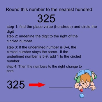Rounding to the Nearest 100-Smartboard Minilesson