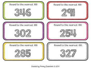 Rounding to the Nearest 100 Four Corners & More