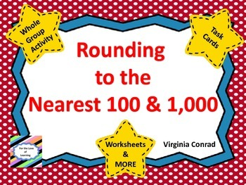 Rounding to the Nearest 100 and 1,000