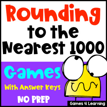 Rounding Games: Rounding to the Nearest 1000