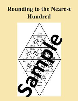 Rounding to the Nearest Hundred – Math Puzzle