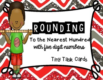 Rounding to the Nearest Hundred with Five Digit Numbers