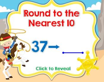 Round to the Nearest 10 Smartboard Lesson