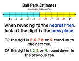 Rounding to the Nearest Ten (Ball Park Estimates)