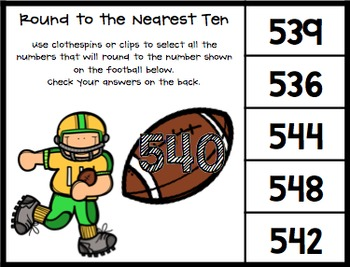 Rounding to the Nearest Ten: Clip, Flip and Check