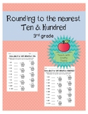 Rounding to the Nearest Ten & Hundred Worksheets